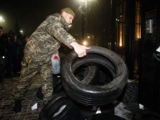 Tensión entre Ucrania y Rusia