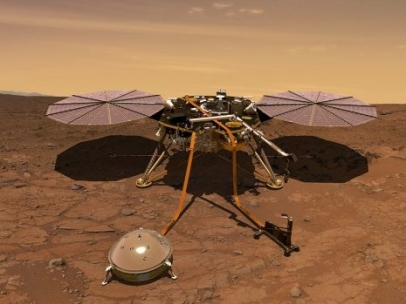 Sonda InSight en Marte