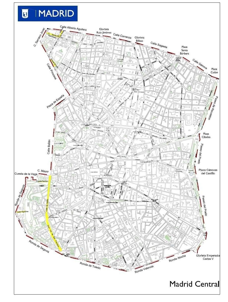 Guía: todo lo que debes saber para entrar o no en Madrid Central