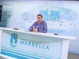Felix Romero en la JGL de Marbella