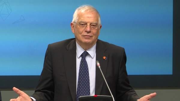 Borrell aclara el acuerdo entre UE y Reino Unido