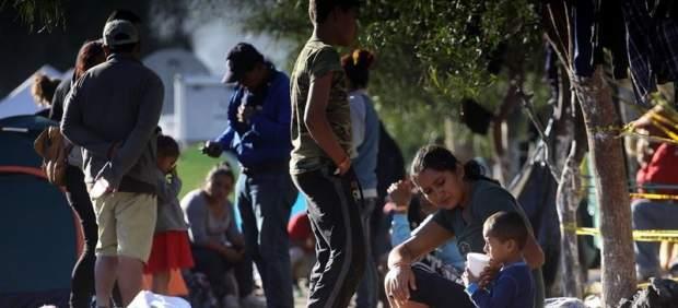 Inmigrantes centroamericanos en Tijuana