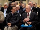 El expresidente de Bankia, Rodrigo Rato, junto al exconsejero de Caja Madrid