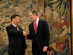 El rey Felipe recibe a Xi Jinping