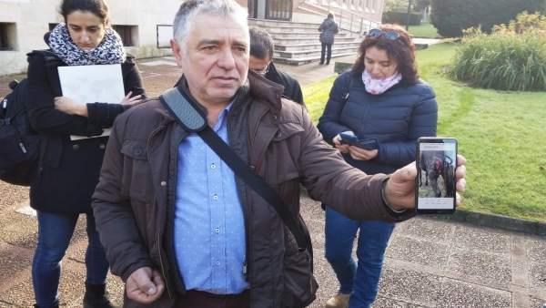 El secretario de Usaga, Fernando Marrón.