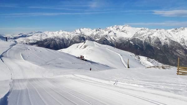La estación de Aramón Cerler inicia este viernes la temporada de nieve