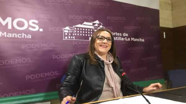 María Díaz, secretaria de Organización Podemos C-LM