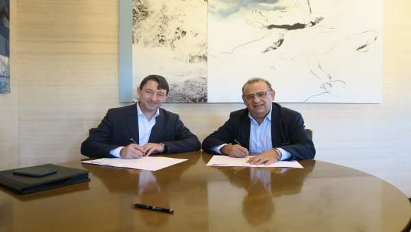 Alcalde de Calvià y asociaciones hoteleras firman  un acuerdo