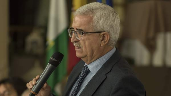 El candidato del PSOE de Cádiz, Manuel Jiménez Barrios