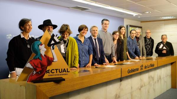 Presentación exposiciones de 'Actual 19' y Fiver