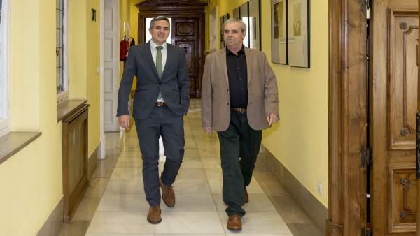 Pablo Zuloaga y Rafael de la Sierra
