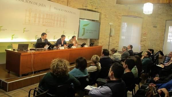 Jornada con empresarios sobre la nueva Ley de Contratos del Sector Público.