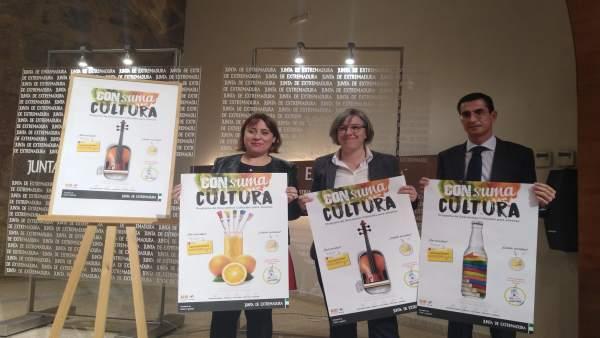 Presentación del proyecto 'Consuma Cultura'