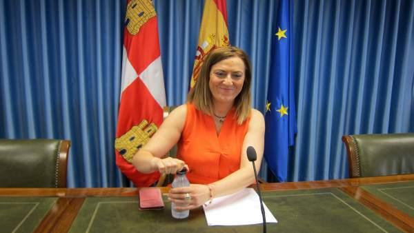 Virginia Barcone, delegada del Gobierno.