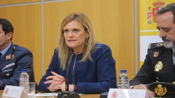 La delegada de Gobierno en Extremadura, Yolanda García Seco