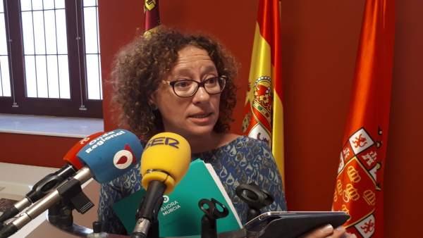 La concejala de Ahora Murcia, Alicia Morales
