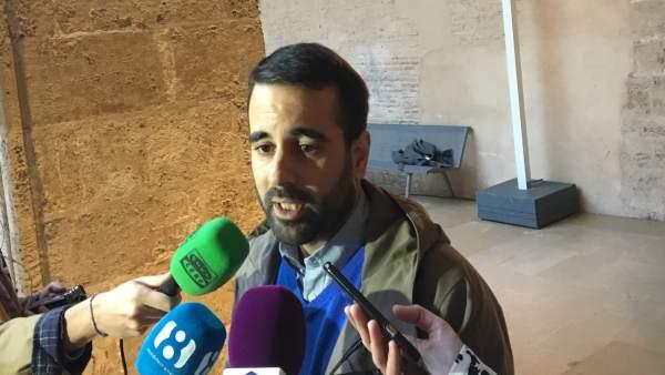 El secretario de Organización del PSPV-PSOE, José Muñoz, en imagen de archivo