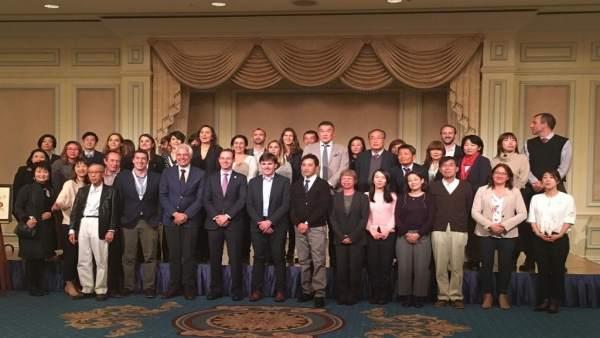 El diputado provincial de Turismo en Japón