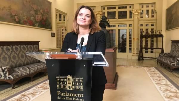 Portavoz PP en el Parlament, Margalida Prohens