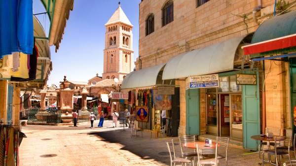 Jerusalén turismo de israel promoción en málaga