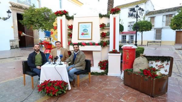 Presentación de las actividades de Navidad en Marbella