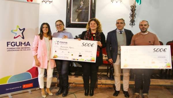 Entrega de 1.000 euros por parte de FGUMA a ONG