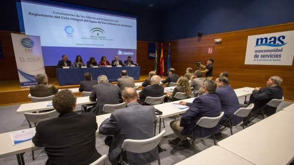 ASA Andalucía entrega a la Junta las conclusiones sobre el nuevo reglamento.