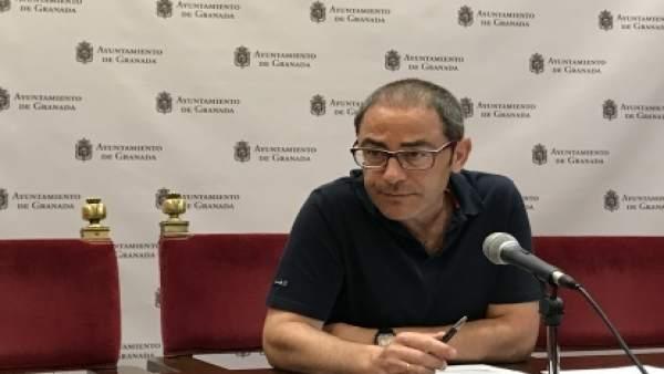 El concejal de Urbanismo, Miguel Ángel Fernández Madrid