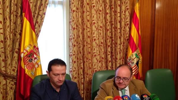 Presentación de los actos de la Constitución en la Subdelegación de Teruel