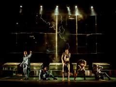 Un momento de 'Barro', el nuevo espectáculo de La Joven Compañía