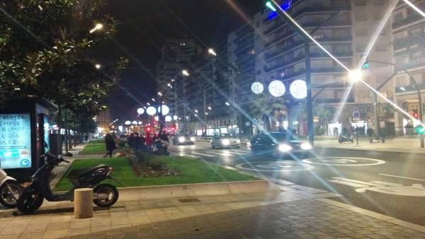 Luces de Navidad en Logroño