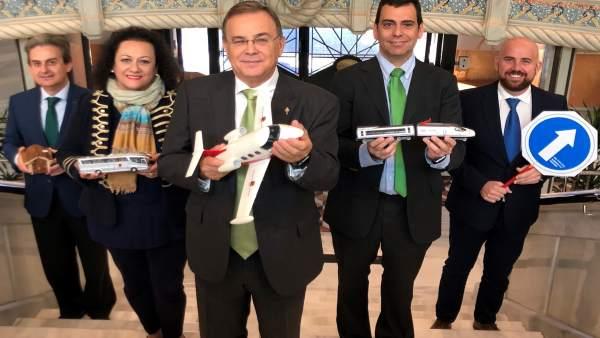 Valverde y equipo Consejería Proyecto Presupuestos Fomento e Infraestructuras