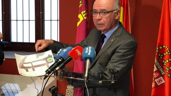 Antonio Navarro en rueda de prensa