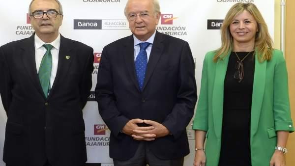 Joaquín Barberá, Carlos Egea y Olga García