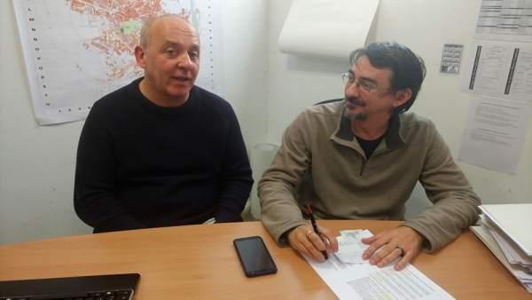 Enrique García (izda) y Luis Alberto Romero