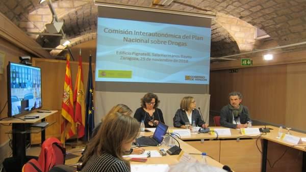 La Comisión Interautonómica de Drogas se reúne en Zaragoza