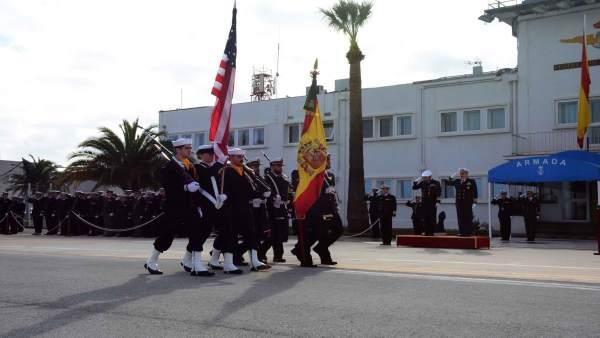 Actos conmemorativos del convenio de cooperación entre Estados Unidos y España