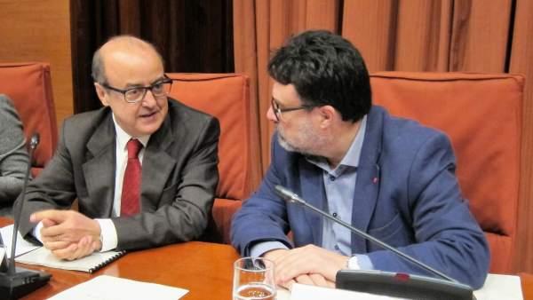 Jesús María Barrientos y Joan Josep Nuet.