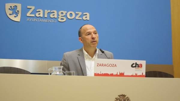 Carmelo Asensio este jueves en el Ayuntamiento.