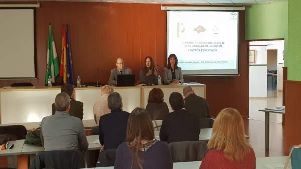 Jornada del Plan de Salud de Centros Educativos de la provincia de Cädiz