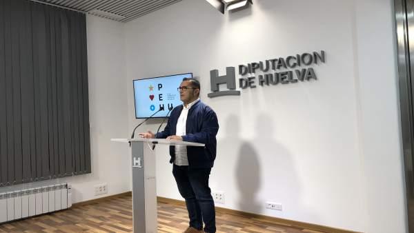 El diputado Salvador Gómez.