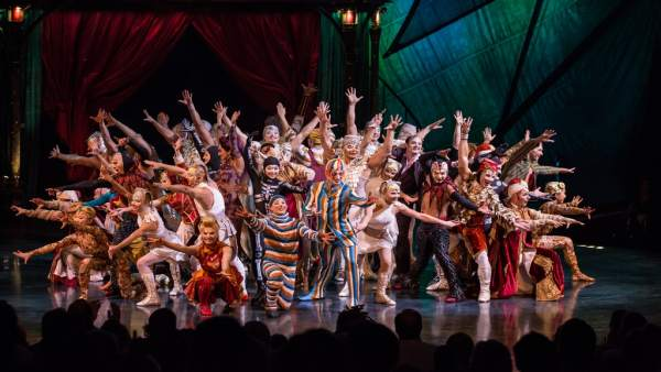 El espectáculo 'Kooza', de Cirque du Soleil