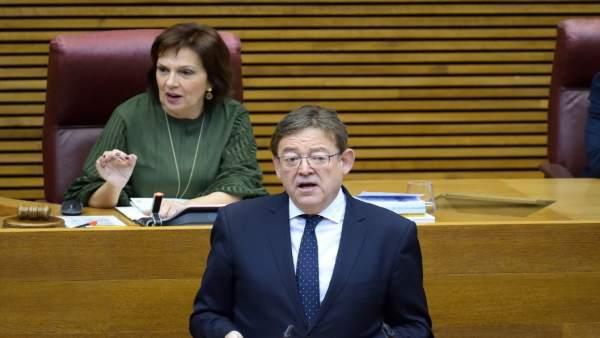 """Puig demana a tots els partits """"clau"""" per a aprovar els PGE que """"pensen en els ciutadans"""""""
