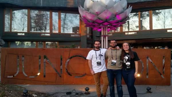Ganadores premiados en hackatón hackathon finlandia uma universitarios
