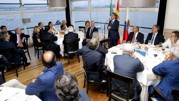Encuentro con motivo de la visita de Andrés Manuel López Obrador a Cantabria