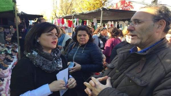 Virginia Pérez en La Rinconada
