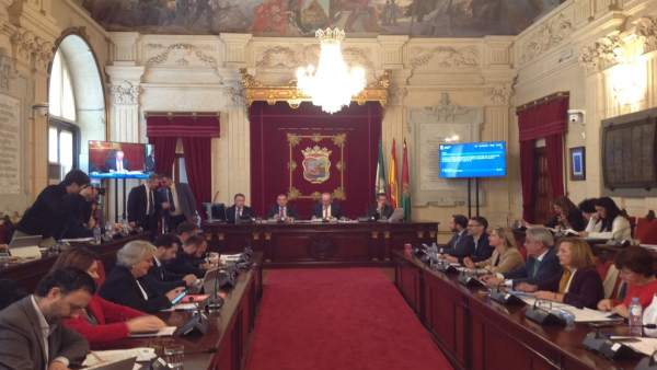 Pleno del Ayuntamiento de Málaga de Noviembre