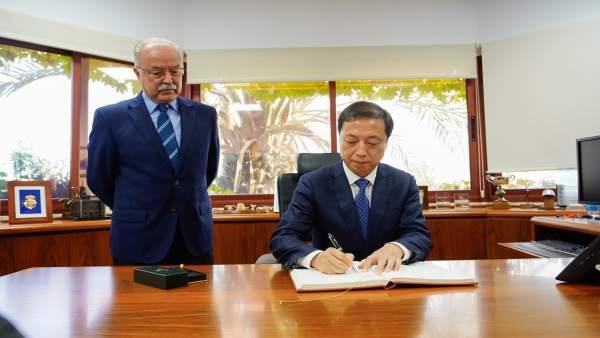 Visita delegación del puerto chino de Ningbó a Algeciras