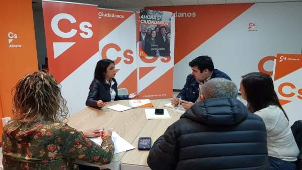 Marta Bosquet (Cs) se reúne con COAG
