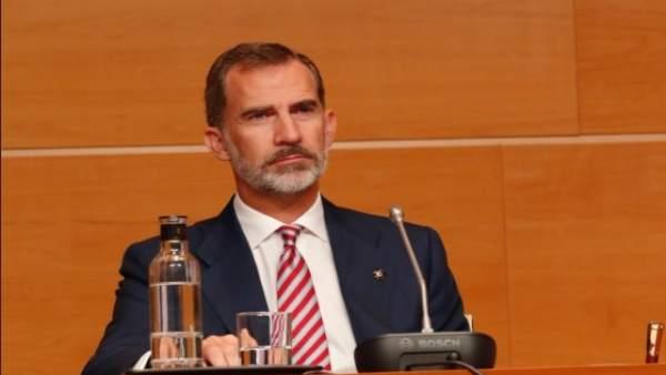 Felip VI, Premi de Convivència de la Fundació Manuel Broseta